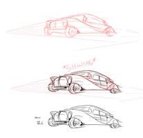 Process of a car by ThirdPotato