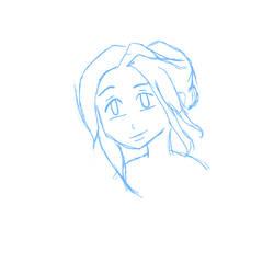 Digital Sketch by DecoAzuria