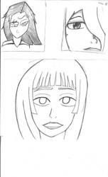 Random Sketches by DecoAzuria