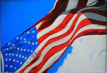 American Flag by mariah22