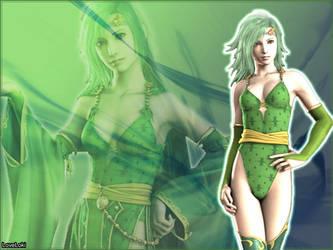 Rydia Green Green by LoveLoki