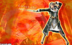 Jihll Nabaat on fire by LoveLoki