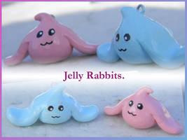 Jelly Rabbit Charm by Kimikotan