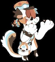 (5/10) Marble Fox bagbean by Dr-FuzzNote