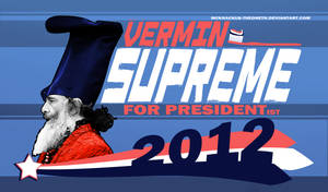 Vermin Supreme for Presidentist by McKnackus