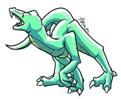 WarmUp 2 Dino by McKnackus