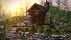 Hobbits world by k-raZRt