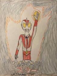 Contest entry-Ultraman Star by MaskedRenamon1290