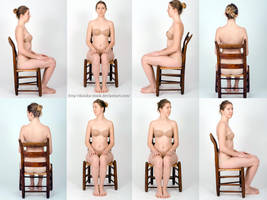 Body Reference - Sitting in Chair- Stock Pack by Danika-Stock