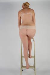 Body Reference - Climbing Ladder - Back Side 2 by Danika-Stock