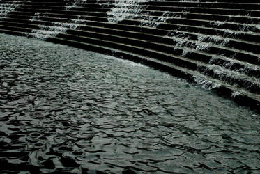 Watery Stairway by Danika-Stock