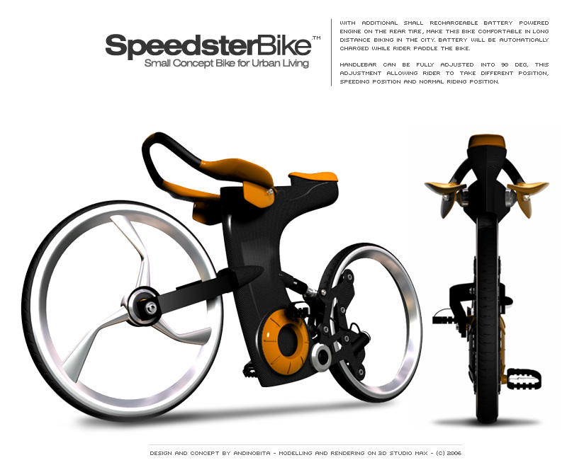speedster bike by andinobita