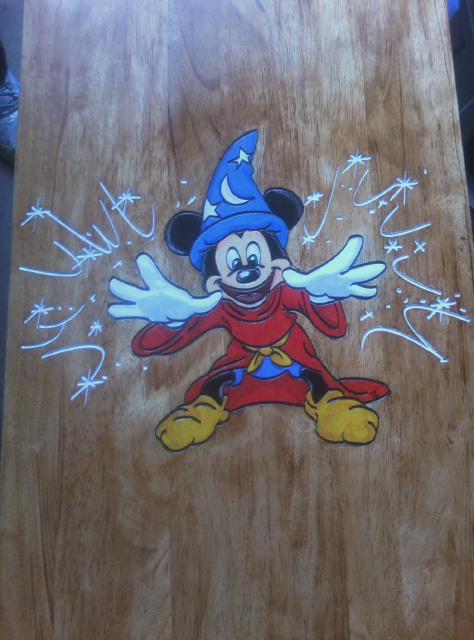 MickeyMouse Table Top by roxasroxs