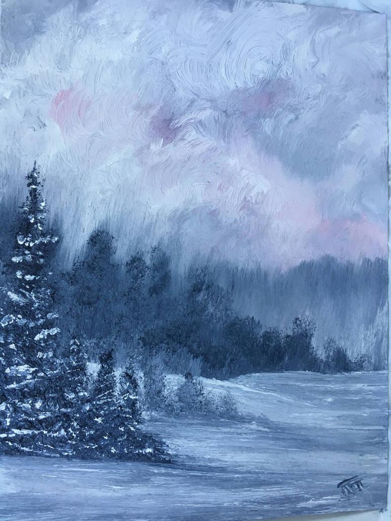 A Grey Winter by roxasroxs