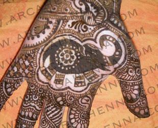Vivaah detail elephant by arcanoide