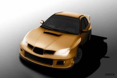 Subaru Impreza WRX Gold Edition by IgorPosternak