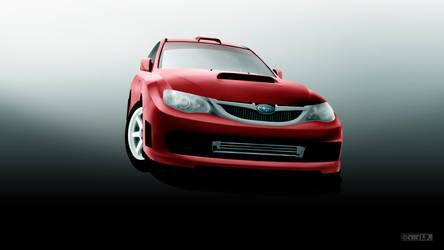 Subaru WRX Sti R Edition by IgorPosternak