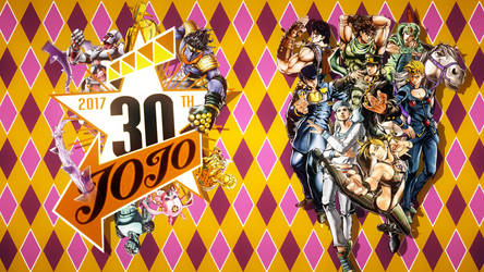 JOJO'S Bizarre Adventure 30th Anniversary by FARetis