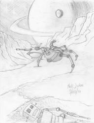Robotic War by Jizba