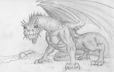 Dragon by Jizba
