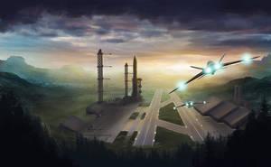 Cosmodrome 5 by Jizba