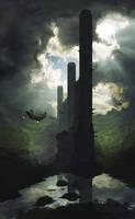 Elythian Towers by Jizba