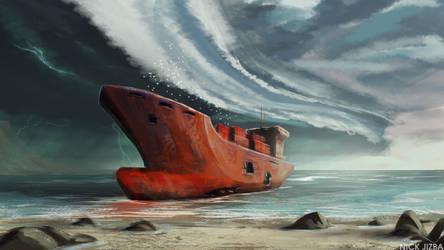 Wreck by Jizba