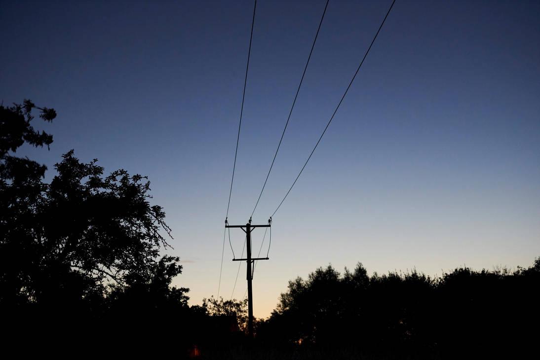 Night Wires by mistersaxon