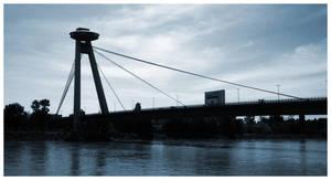 UFO over the bridge by Zoroo