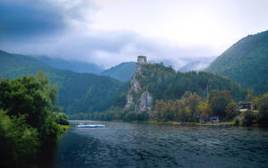 Strecno Castle by Zoroo