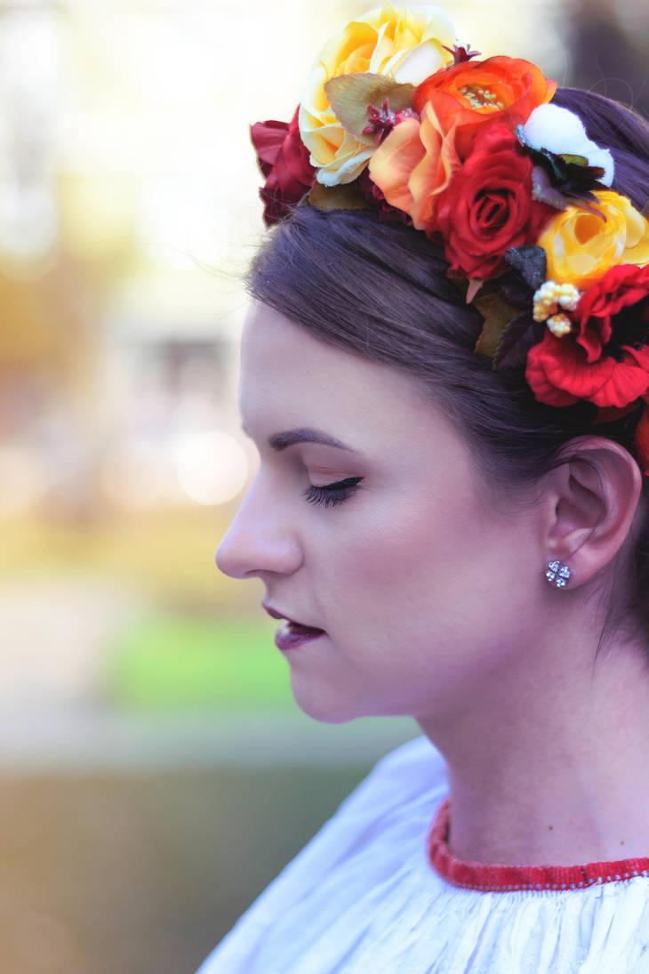 Girl of Flowers by Zoroo