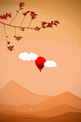 Orange World from Red Balloon by Zoroo