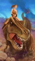 T-Rex Rider by julientainmont
