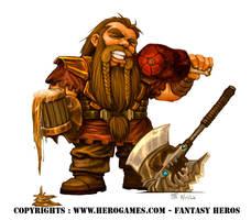 Dwarf - HeroGames by julientainmont