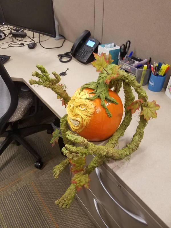 no carve pumpkin  by MONKEYkingDESIGNS