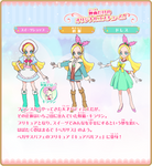 Ciel Kirahoshi/Kirarin {PreCure Movie Profile] by FFPreCureSpain