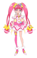 Cure Star (Star Twinkle PreCure Render] by FFPreCureSpain
