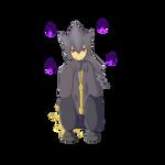 Pokemon Gijinka - Haunting Eyes by Laeshin