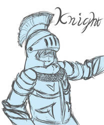 Knight by Laeshin