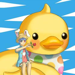 Quack by Laeshin