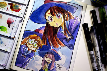 Little Witch Academia by aubs-nin