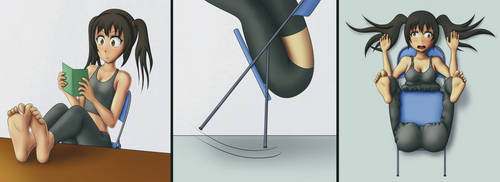 Folding Chair by Squaresteed