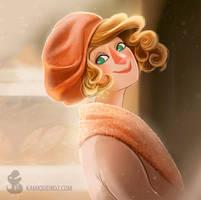 Queenie Portrait (Fantastic Beasts Fanart) by tropicalraccoon