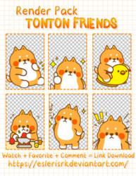 [SHARE] Render Pack Tonton Friends by EslerisRK