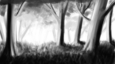 Ink Trees by SenorDoom