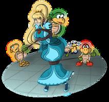 Attack on Princess Aran by Deep-world