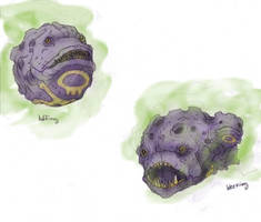 Koffing and Weezing by RtRadke