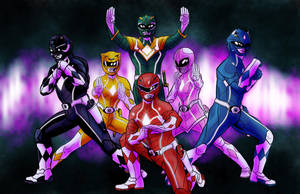 Mighty Morphin' Power Rangers by RtRadke