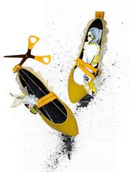 banana kabuki shoes by jesskajuice