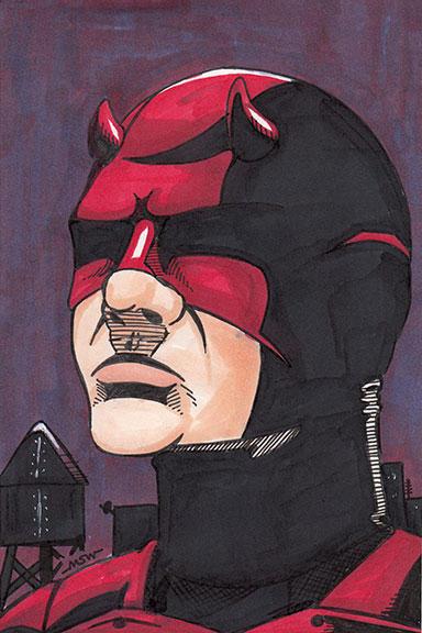 Daredevil by RiffThirteen